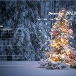 December 2013 Calendar Template